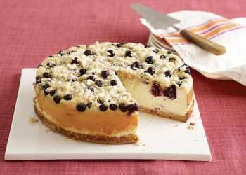 Recipe Blueberry Streusel Cheesecake
