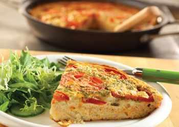 Recipe Tomato-Feta Frittata