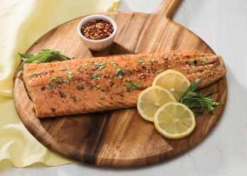 Recipe Honey-Balsamic Glazed Salmon