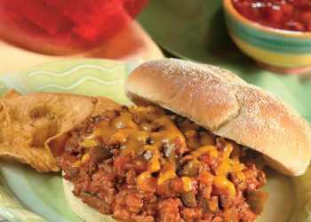 Recipe 2-Step Beefy Taco Joes