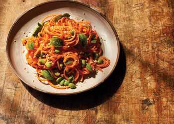 Recipe Carrot Beauty Noodles