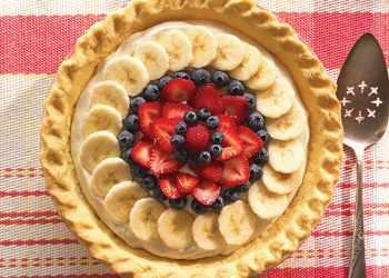 Recipe Fresh Fruit Cream Cheese Pie