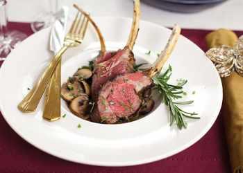 Recipe Garlic and Herb Lamb Chops with Marsala Mushroom Sauce