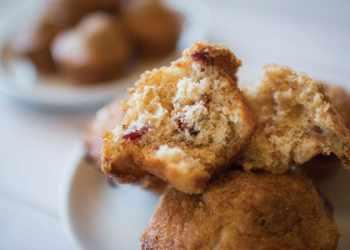 Recipe Sweet Orange and Cranberry Muffins