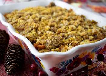 Recipe Crunchy Sweet Potato Casserole