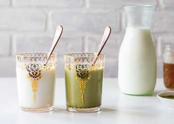 Recipe Lavender Honey Flavored Milk