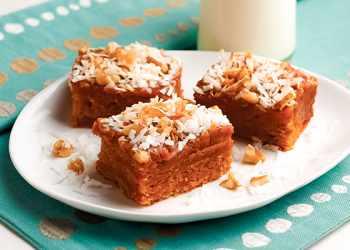 Recipe Caramel Crumble Bars