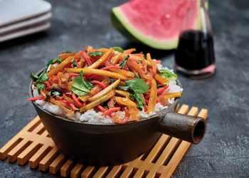 Recipe Watermelon Rind Stir-Fry