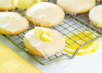 Recipe Glazed Lemon Cookies