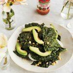 45 Recipe Miso Kale Caesar Salad