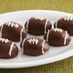 155 Recipe Chocolate Raspberry Football Cookie Truffles