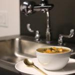 203 Recipe White Bean Soup with Spicy Chorizo