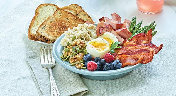 425 Recipe Hearty Breakfast Bowl