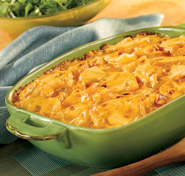 766 Recipe Mexican Four Cheese Potatoes au Gratin