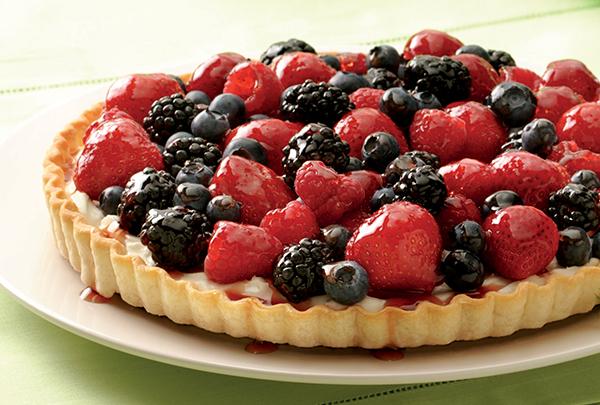 776 Recipe Fresh Berry Cream Tart