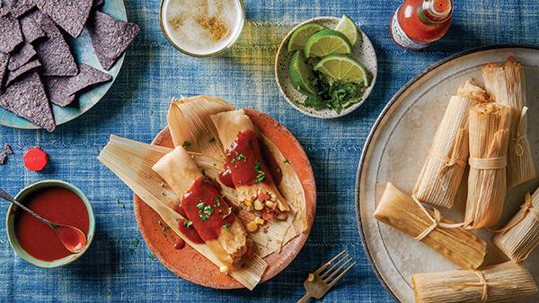 834 Recipe Zucchini and Corn Tamales
