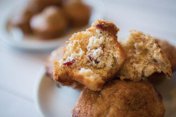 920 Recipe Sweet Orange and Cranberry Muffins