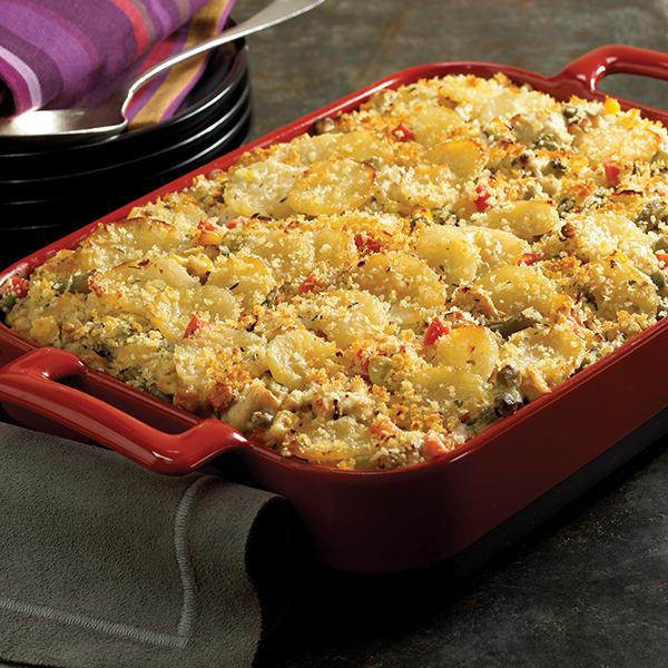 926 Recipe Potato, Turkey and Veggie Casserole