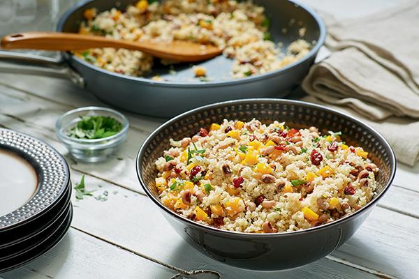 935 Recipe Holiday Cauliflower Rice and Beans