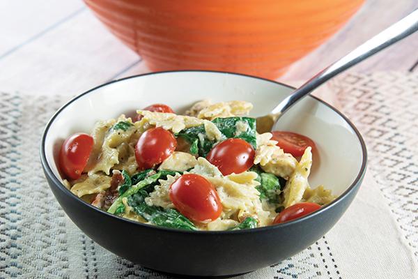 976 Recipe Pasta and Chicken in Garlic Cream Sauce