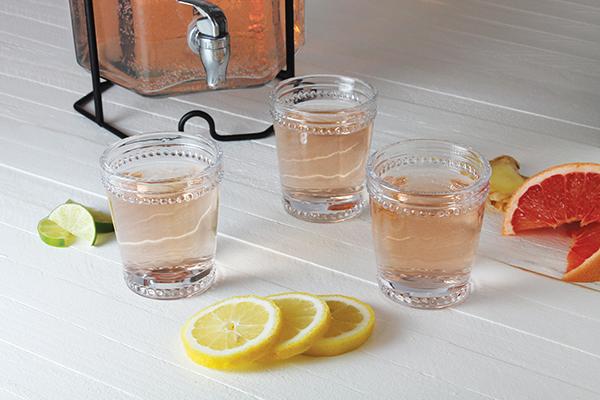 1048 Recipe Citrus Ginger Rosé Punch