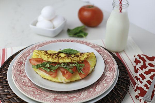 1051 Recipe Caprese Omelet