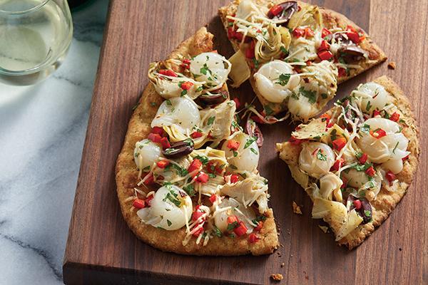 1063 Recipe Herbed Mediterranean Flatbread