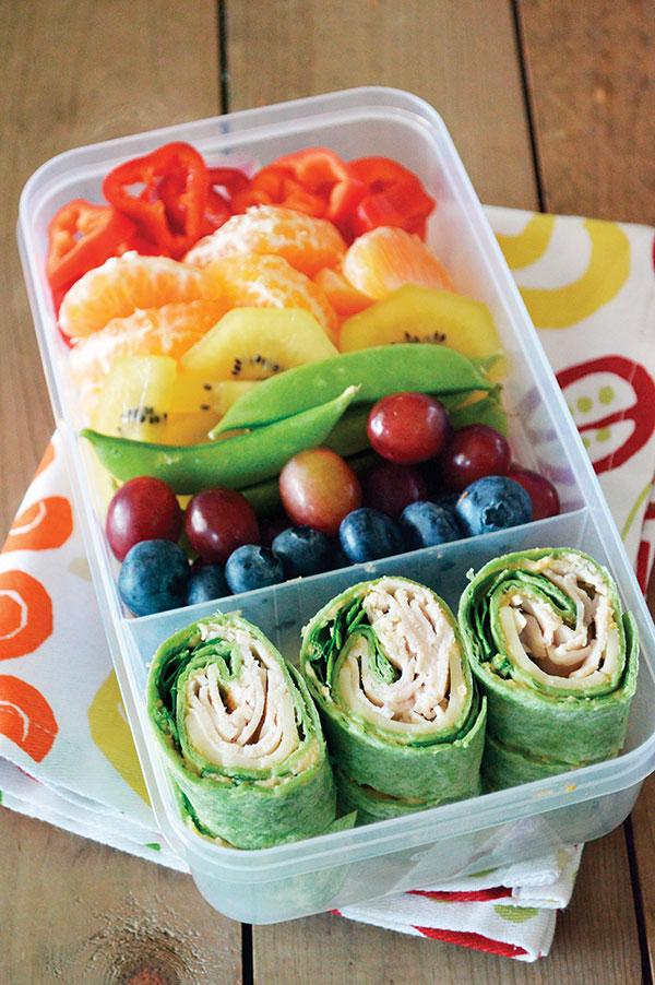 1097 Recipe Rainbow Bento Box