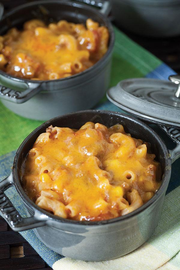 1145 Recipe Tex-Mex Macaroni Casserole