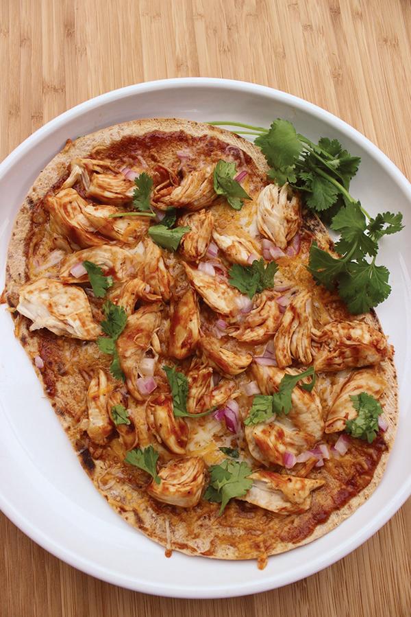 1191 Recipe Barbecue Chicken Flatbread Pizza
