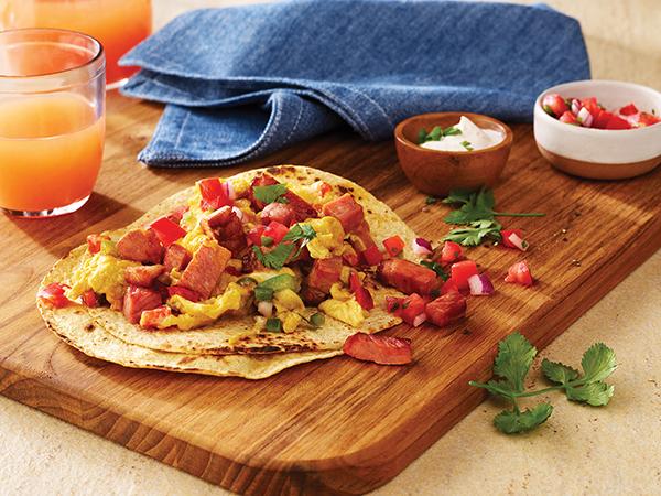 1226 Recipe Deli Ham Breakfast All Day Tacos