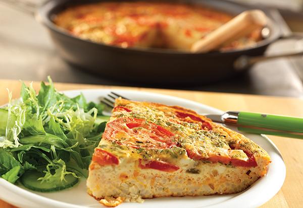 1325 Recipe Tomato-Feta Frittata