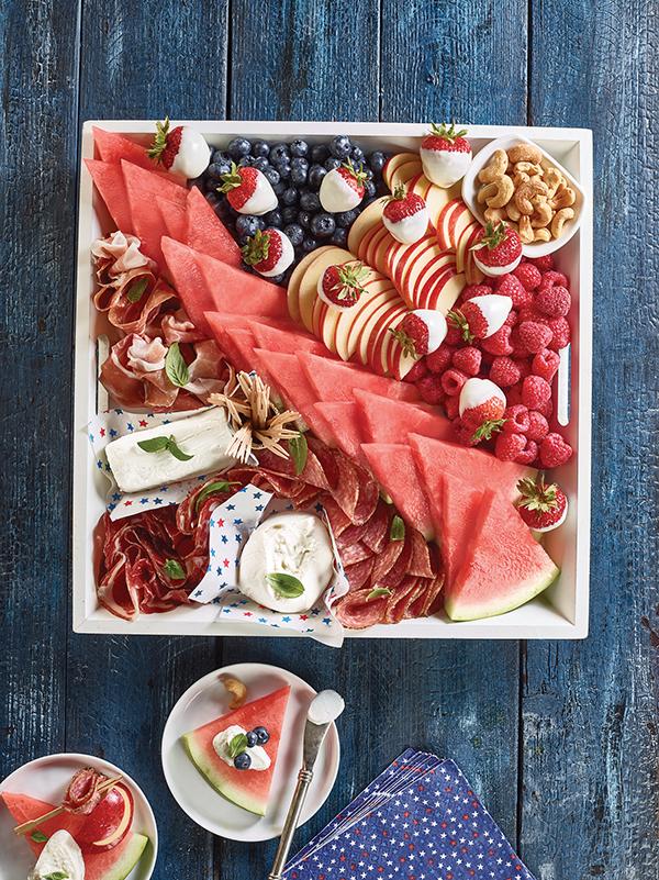 1429 Recipe Patriotic Charcuterie Board