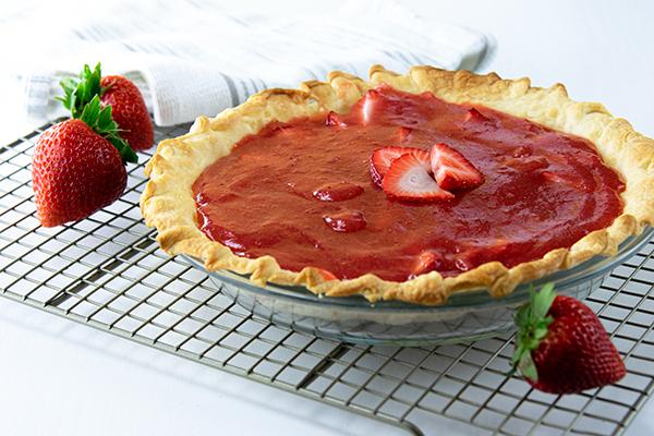 1447 Recipe Fresh Strawberry Pie