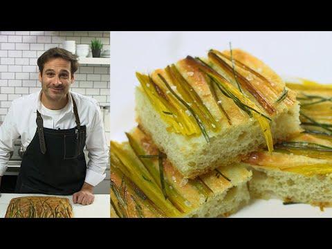 Onion-and-Leek Focaccia | Deliciously Crisp Exterior | Kitchen Conundrums